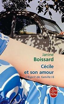 L'Esprit de famille, tome 6 : Cécile et son amour par Boissard