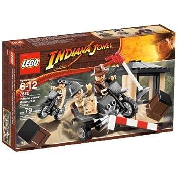 Amazoncom LEGO Indiana Jones Motorcycle Chase Toys  Games