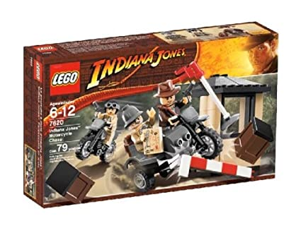 Image Unavailable. Image not available for. Color  LEGO Indiana Jones  Motorcycle Chase 3e74107d64e