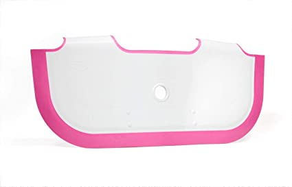Vasca Da Bagno Litri Acqua : Babydam nellacqua barriera bianco rosa eco friendly risparmio acqua