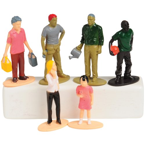 U.S Toy 4184 Multicultural Family Figures
