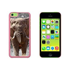 Africa African Elephant Snap On Hard Protective For Iphone 6 Plus Phone Case Cover - Pink