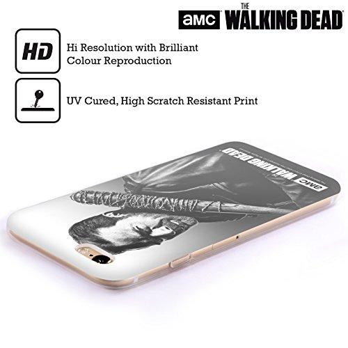 Officiel AMC The Walking Dead Negan Portraits Filtrés Étui Coque en Gel molle pour Apple iPhone 6 Plus / 6s Plus