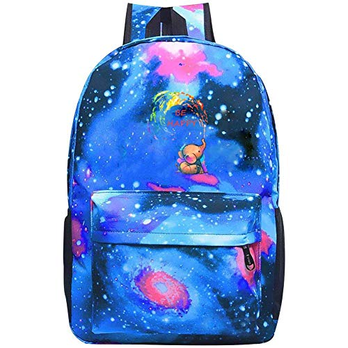 Happy elephant Star Backpack Fashion Travel Bag Large Capacity