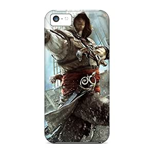 For Iphone 5c Fashion Design Assassin's Creed Iv Black Flag Case-Ams1128zOmS