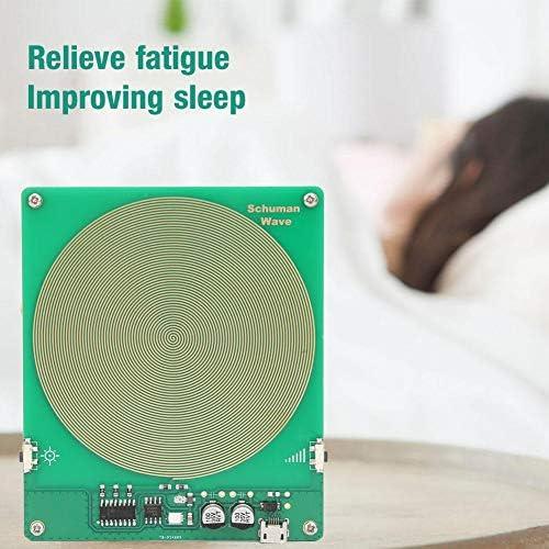 Dpofirs Generatore di impulsi Mini USB generatore di impulsi Schumann Wave a frequenza Ultra Bassa a 7,83 Hz Generatore di Alta precisione e stabilit/à per Aiutare Il Sonno//Riposo Corpo e Mente