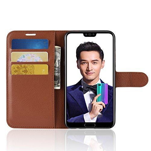 Verde Cover Huawei Aobok Mano Portafoglio 10 Da Caso Protettiva Premium Custodia Custodia Nero Honor Pelle Per Flip In Twvdqrgw6