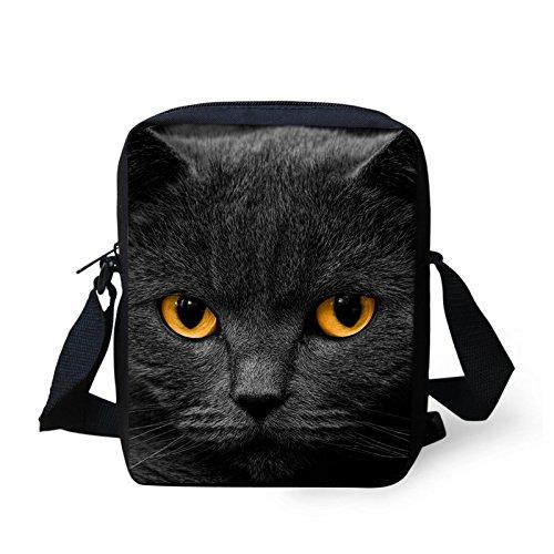 Aassddff Women Messenger Bags 3d Bags Denim Shoulder Bag Cute Animals Cat Children Crossbody Bag Messenger Bags For Girls, 30 29