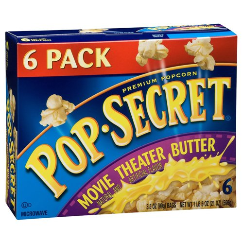 Pop-secret Microwave Popcorn Movie Theater 6 Count (Pack of 18) by Pop Secret