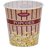VICTORIO VKP1167 Popcorn Bucket, Medium, Burgundy