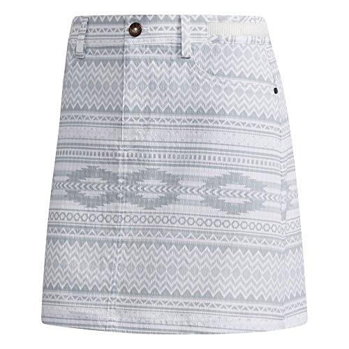アディダス Adidas スカート ストレッチ サッカープリント スコート レディス ホワイト M