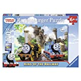 Ravensburger Thomas and Friends - King of the Railway, Puzzle (100-Piece)
