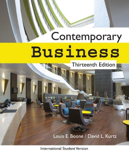 Contemporary Business, 13th Edition