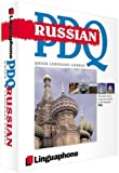 img - for Russian PDQ-Quick Comprehensive Course: Learn to Speak, Understand, Read and Write Russian with Linguaphone Language Programs by Katerina Burgess (2001-03-12) book / textbook / text book