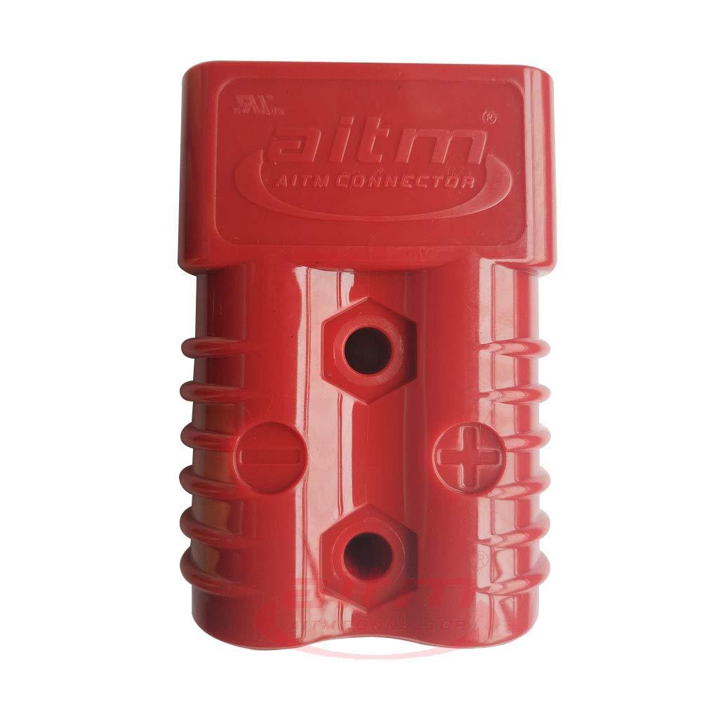 175A Batterie Stecker AWG 1//0 Steckverbindung Schnellverbinder,Batterie Verbindung Stecker Kabel Schutzkappe Kits