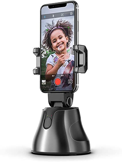Boliaman 3-Axis Gimbal Stabilizer Compatible for iPhone 11 Pro Xs Max Xr X 8 Plus 7,Android Smartphone Vlog Youtuber Live Video Record with Sport Inception Mode Face Object Tracking Motion Time-Lapse