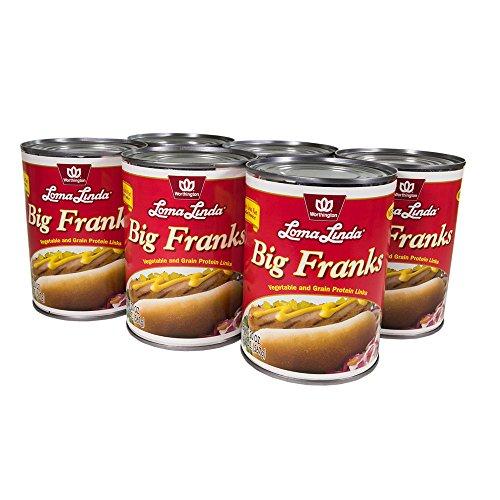 Loma Linda - Plant-Based - Big Franks (20 oz.) (Pack of 6) - Kosher by Loma Linda (Image #1)