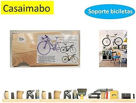 casaimabo-Soporte para bicicleta a pared: Amazon.es: Deportes y ...