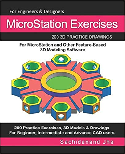Amazon com: MicroStation Exercises: 200 3D Practice Drawings