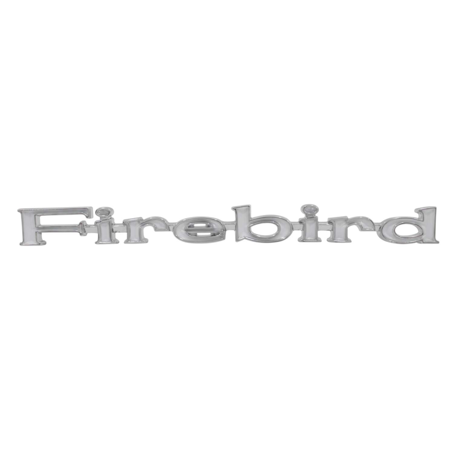 "Trim Parts 8507 Front Fender Emblem 1969 Firebird /""Firebird /"""
