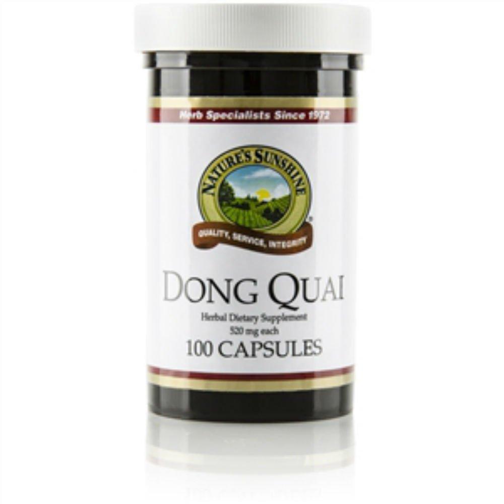 Nature's Sunshine Dong Quai Herbal Food Supplement 100 Capsules