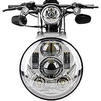 Motorcycle Headlight 5.75 Inch 5 3/4