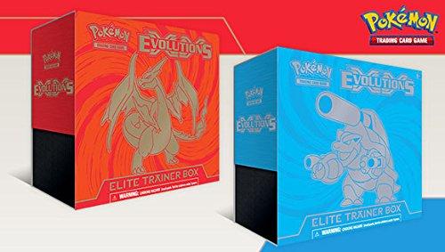 TCG XY Evolutions Boosters Elite Trainer Box (Booster Charizard Pokemon Box)
