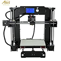 Loee Upgraded DIY Desktop 3D Printer Reprap Prusa i3 Kit, High Accuracy Self-Assembly Tridimensional FDM Printer, Multicolor Printing Machine by Loee