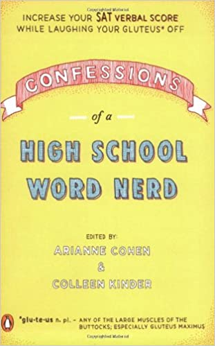 What is the list of SAT words from Confessions of a Word Nerd?