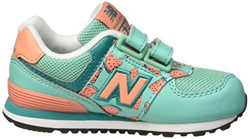 Coral Bébé NBKG574TCI Teal Vert Chaussures New Balance Debout zfqFFp