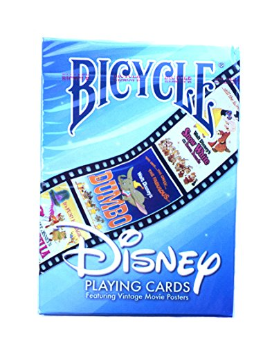 Disney Bicycle Playing Cards Featuring Vintage Movie Posters
