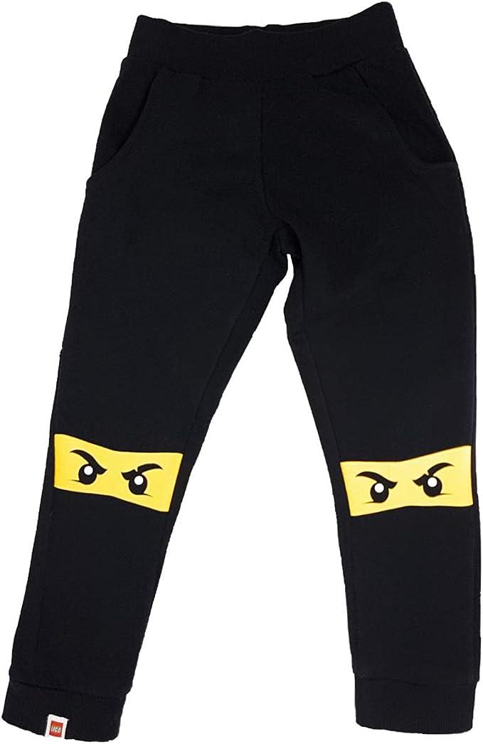 LEGO Ninjago - Pantalones de chándal para niño Negro Medium ...