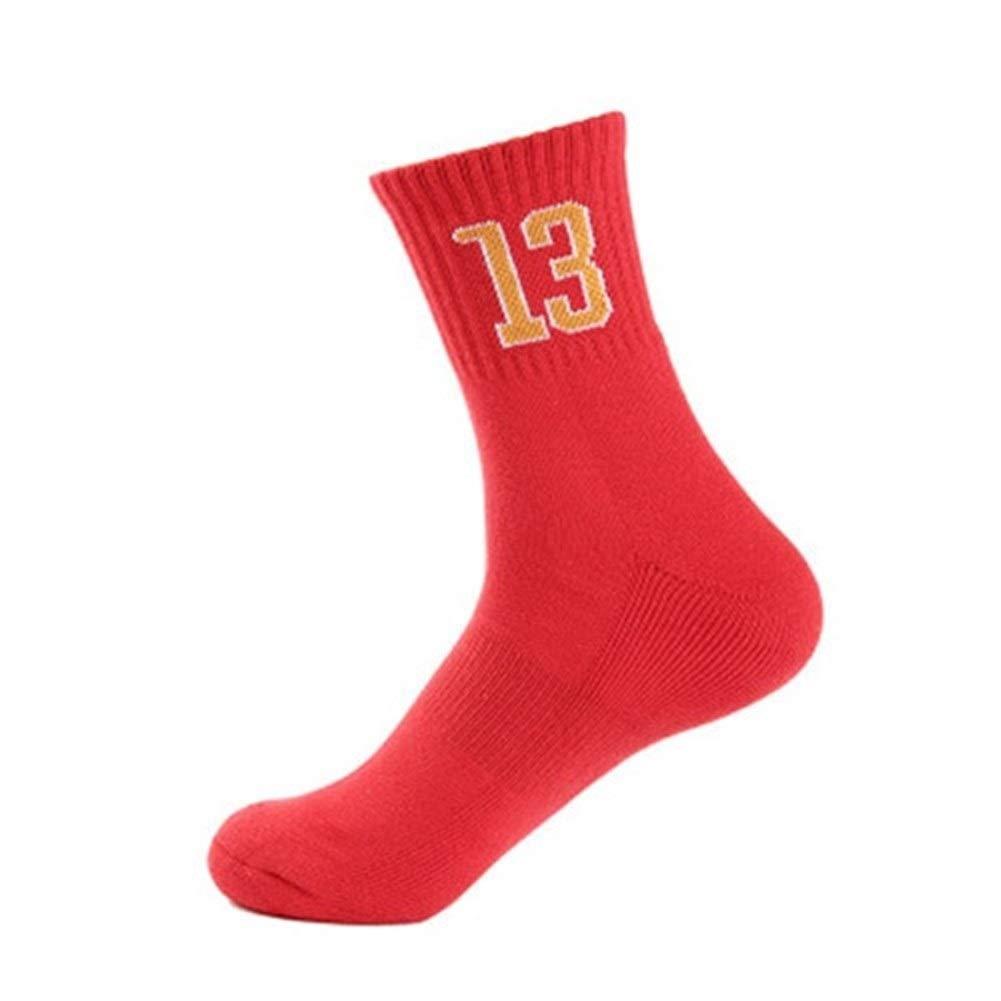 YUANYUAN520 Sock Calze da Basket Professionali Super Star Calze Sportive Spesse Elite Calze Antiscivolo Resistenti for Skateboard Calze Inferiori