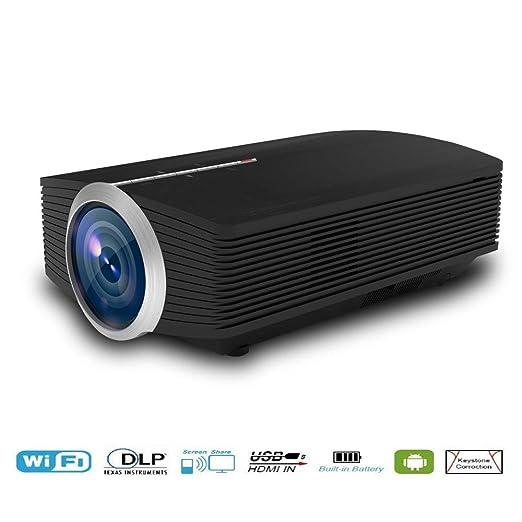 shengshiyujia Proyector LED para el hogar YG500 HD proyector de ...