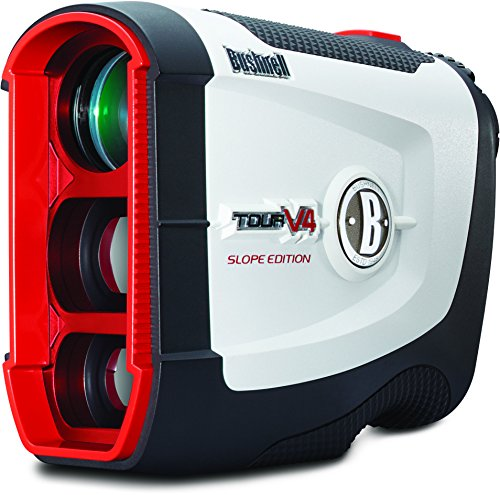 Bushnell Golf Tour V4 Slope Laser Rangefinder, Asian Box Packaging