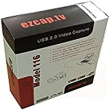 EZCAP.TV 116 EzCAPTURE USB 2.0 VHS to DVD Converter. Capture & convert video from VHS, Hi8, All Camcorders, DVD player, Satellite TV, etc. Capture xbox360/Wii/Playstation 3 in full colour. Upload videos direct to YouTube, convert for mobile device or make a dvd. Stream live with Skype, MSN, etc. Supports Windows XP, Vista, 7, 8 32/64 bit, Mac OS X 10.5.8 or later