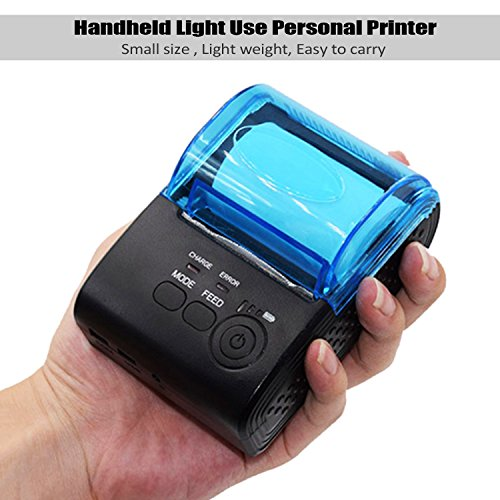 MinGz Thermal Receipt Printer,Portable Personal Printer Mini Wireless Bluetooth Printer for iOS and Android Systems,58MM USB Thermal Printer Compatible with ESC / POS Print Commands Set Photo #6
