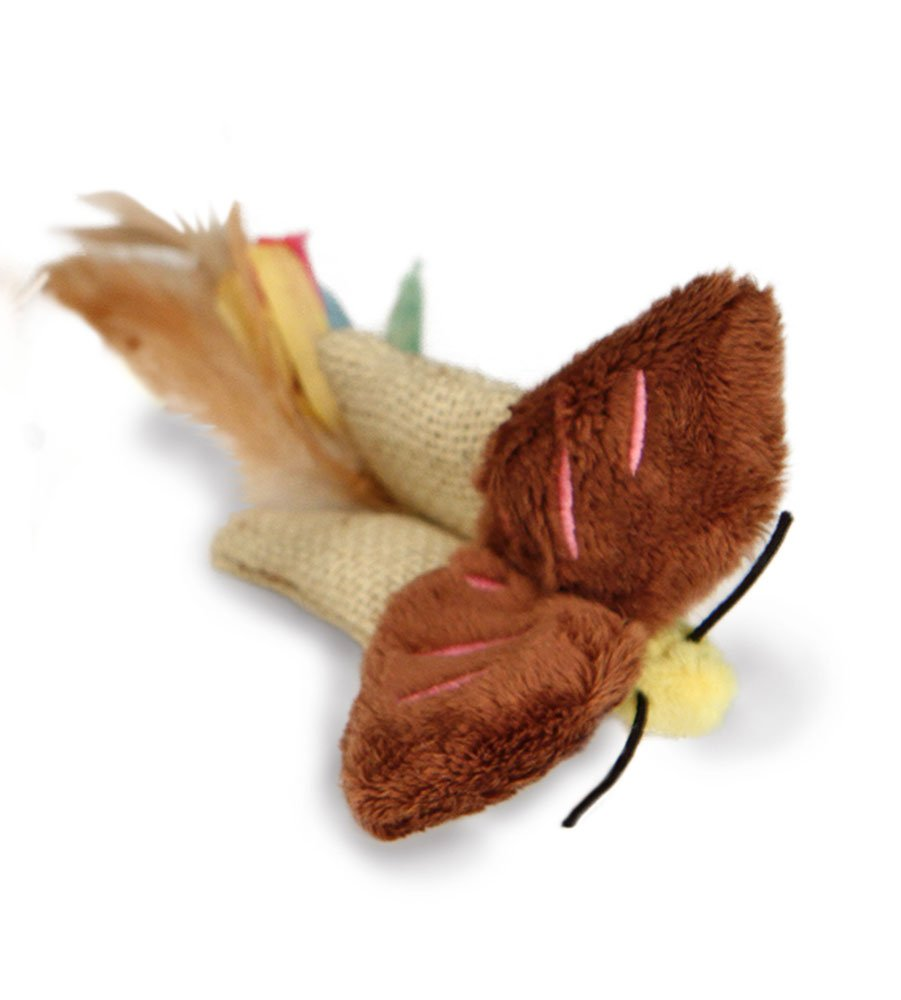 Petlinks Natural Prey Feathered Crinkle Cat Toy