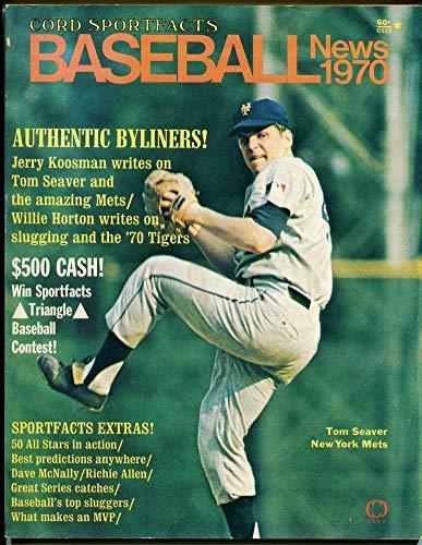 1970 Cord Sportfacts Baseball Tom Seaver 49210 B19 (Toms Cords)