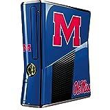 University of Mississippi Xbox 360 Slim (2010) Skin - Ole Miss Vinyl Decal Skin For Your Xbox 360 Slim (2010)