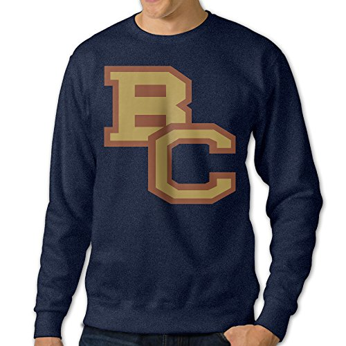 JJVAT Men's Boston College BC Logo Crewneck Sweater Size XXL ()