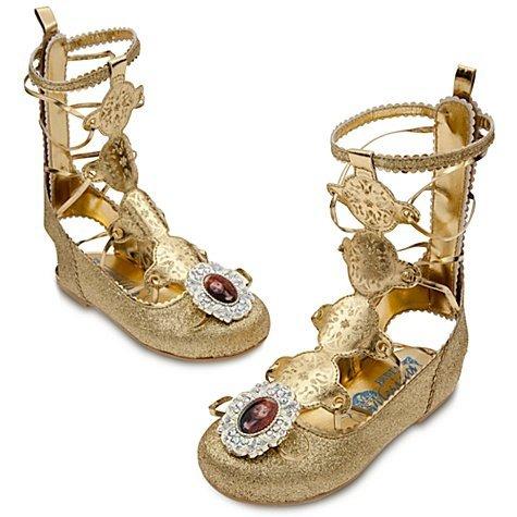 Disney Brave Merida Gladiator Dress Up Shoes - Size 9/10