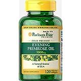 Puritan's Pride Evening Primrose Oil 1000 mg with GLA-120 Softgels