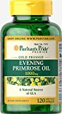 primrose oil capsules - Puritans Pride Evening Primrose Oil 1000 Mg With Gla, 120 Count