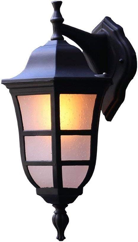 E-L Iluminación Exterior Luces de Jardín Aplique Exterior Impermeable para Exteriores: Amazon.es: Deportes y aire libre