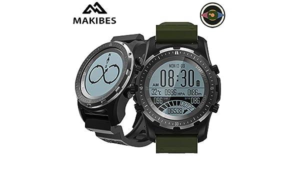 Amazon.com: Makibes BR2 GPS Compass Speedometer Sport Watch ...