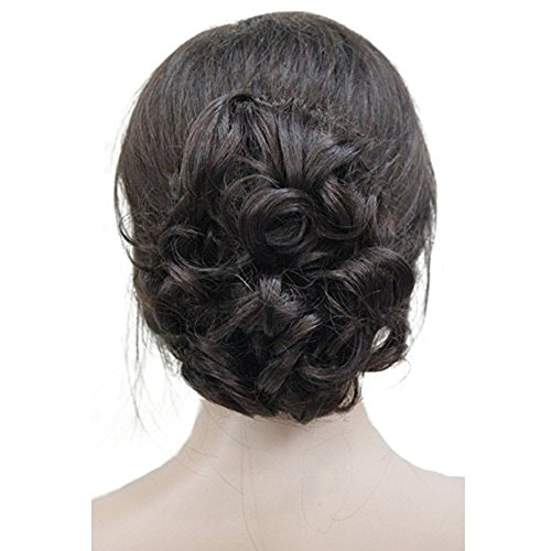 Lydell Short Ponytail Hair Piece Extension Wavy Claw Clip In