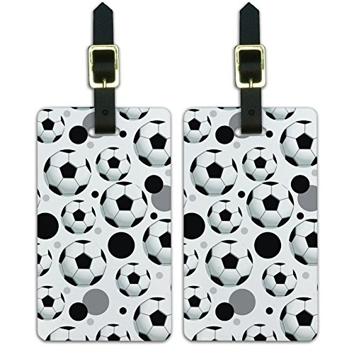 Soccer Luggage Tag - 8