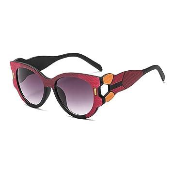 ZRTYJ Gafas de Sol Moda Cat Eye Gafas de Sol Mujeres Marca ...
