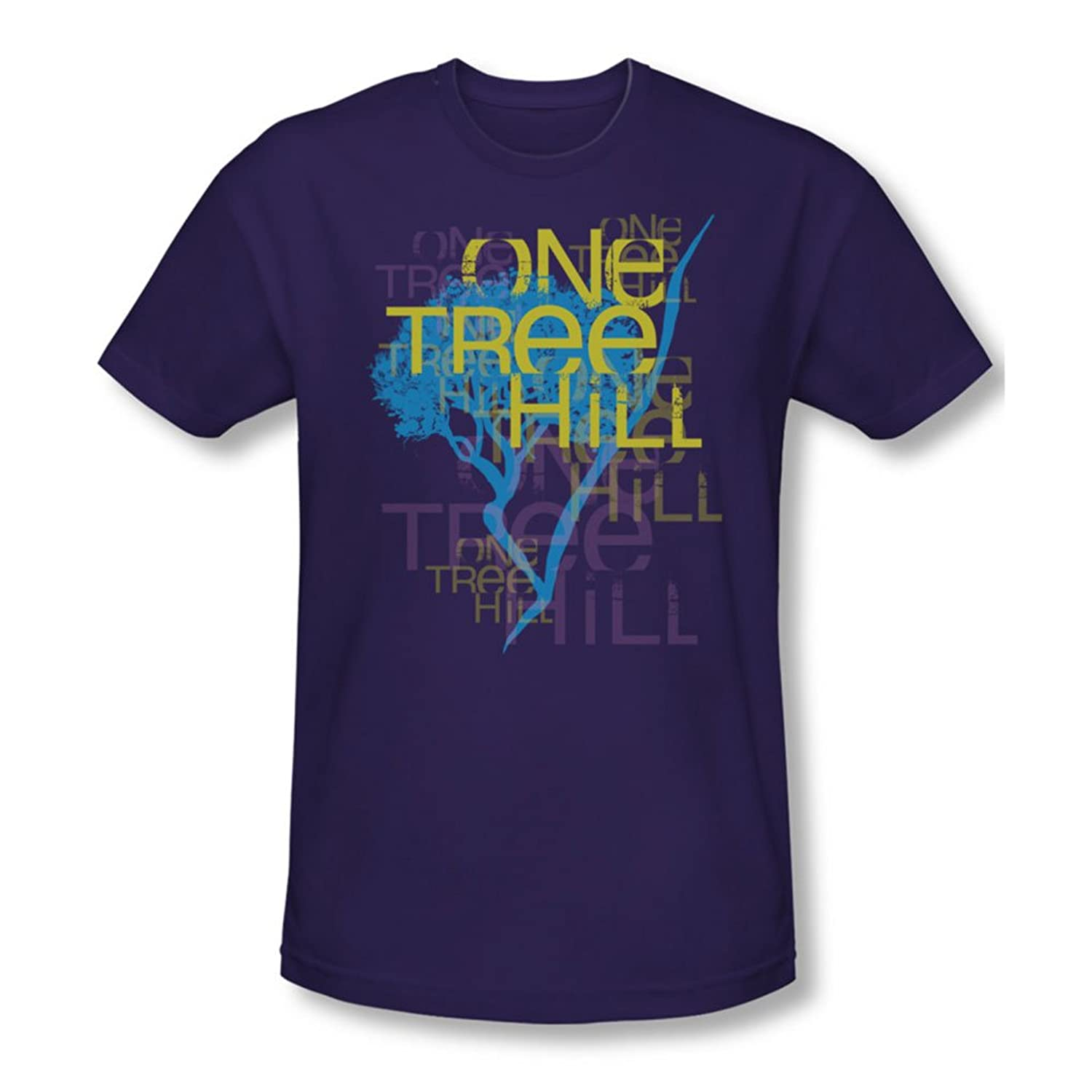 One Tree Hill - Mens Title T-Shirt In Purple